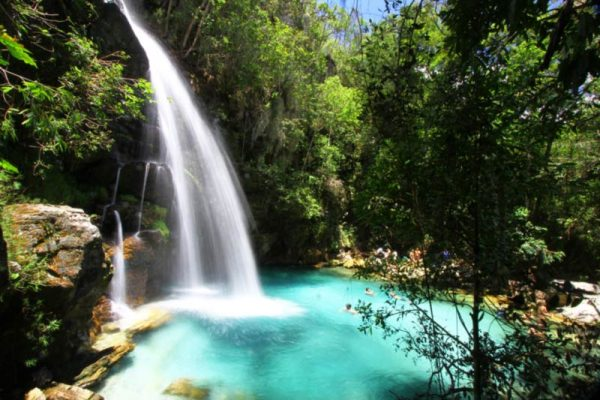 Cachoeiras na Chapada dos Veadeiros