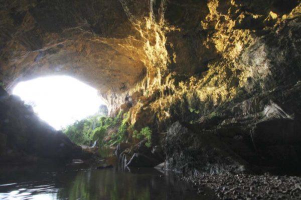 atividades em cavernas - Terra Ronca