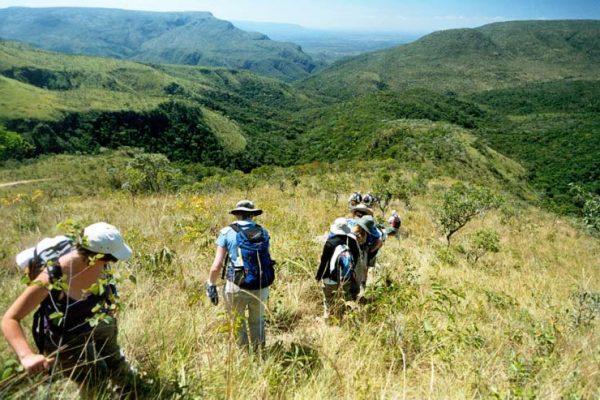 trekking na Chapada dos Veadeiros