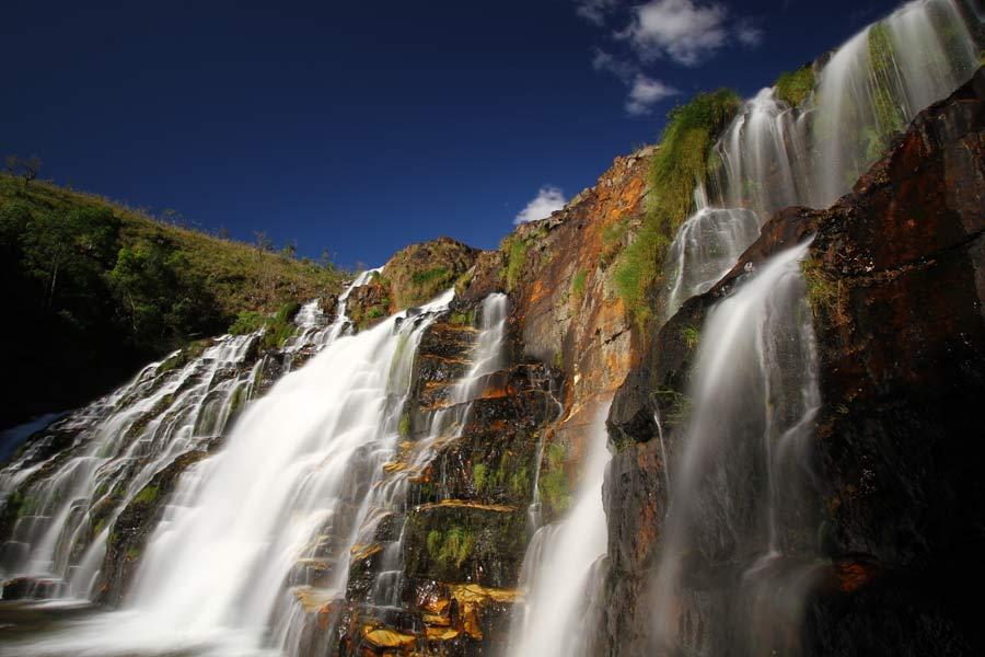 Couros - Cachoeira na Chapada dos Veadeiros
