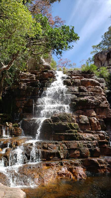 Cachoeira dos Arcanjos - Chapada dos Veadeiros
