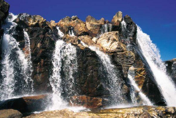 Cariocas - Cachoeira na Chapada dos Veadeiros