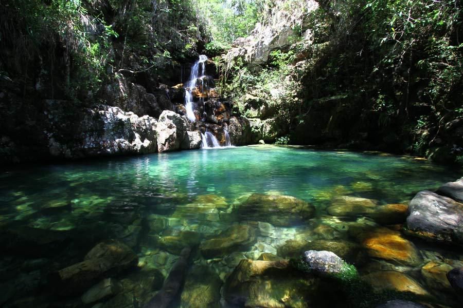 Loquinhas - Cachoeira na Chapada dos Veadeiros