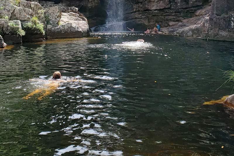 Cachoeiras Anjos e Arcanjos - Chapada dos Veadeiros