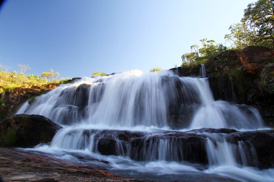 Macaquinhos - Cachoeira na Chapada dos Veadeiros