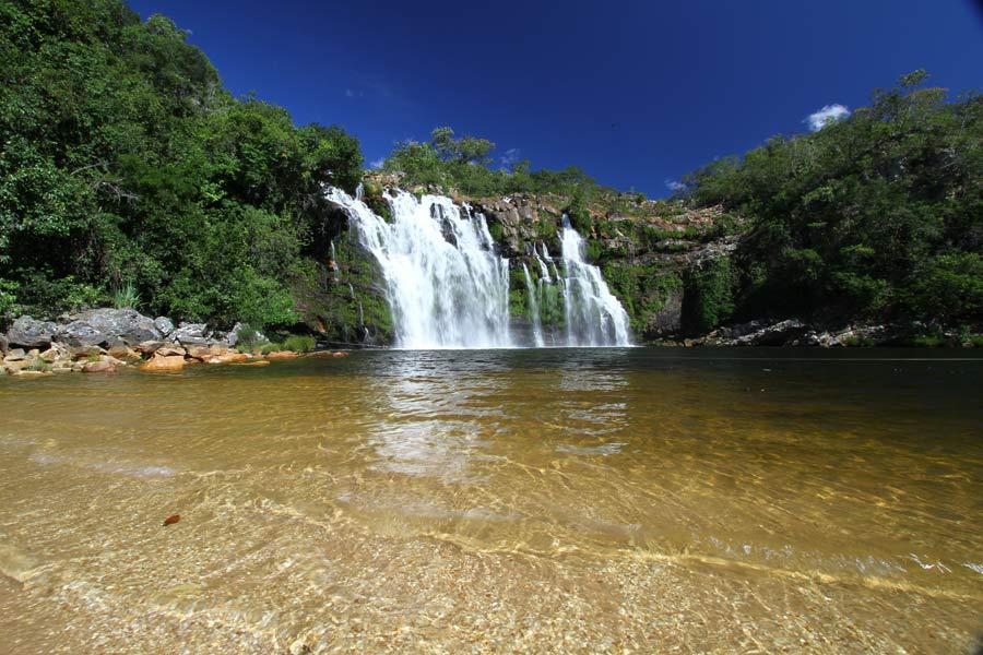 Poço Encantado - Cachoeira na Chapada dos Veadeiros