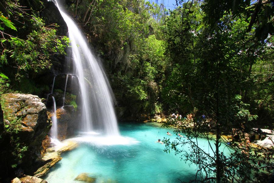 Santa Bárbara - Cachoeira na Chapada dos Veadeiros