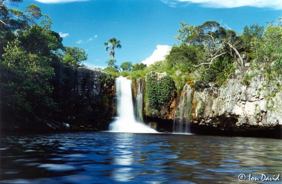 São Bento - Cachoeira na Chapada dos Veadeiros